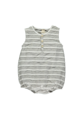 vignette Bryn Bubble Romper in Dove by Vignette