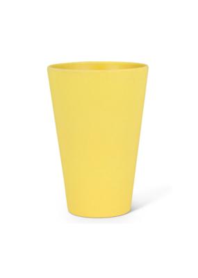 "Large Tumbler 5""H in Yellow"