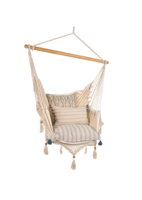 Crocheted Chair Hammock