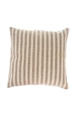 Indaba Trading Ingram Stripe Pillow in Sand
