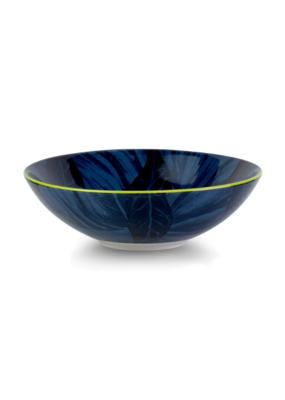 Blue Leaves Poke Bowl 21cm