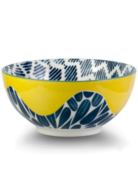 Cobble Yellow Bowl 20cm