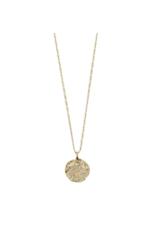 PILGRIM Joy Necklace in Gold & Rose by Pilgrim