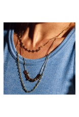 PILGRIM 3-Layer Joy Necklace in Gold-Plated by Pilgrim