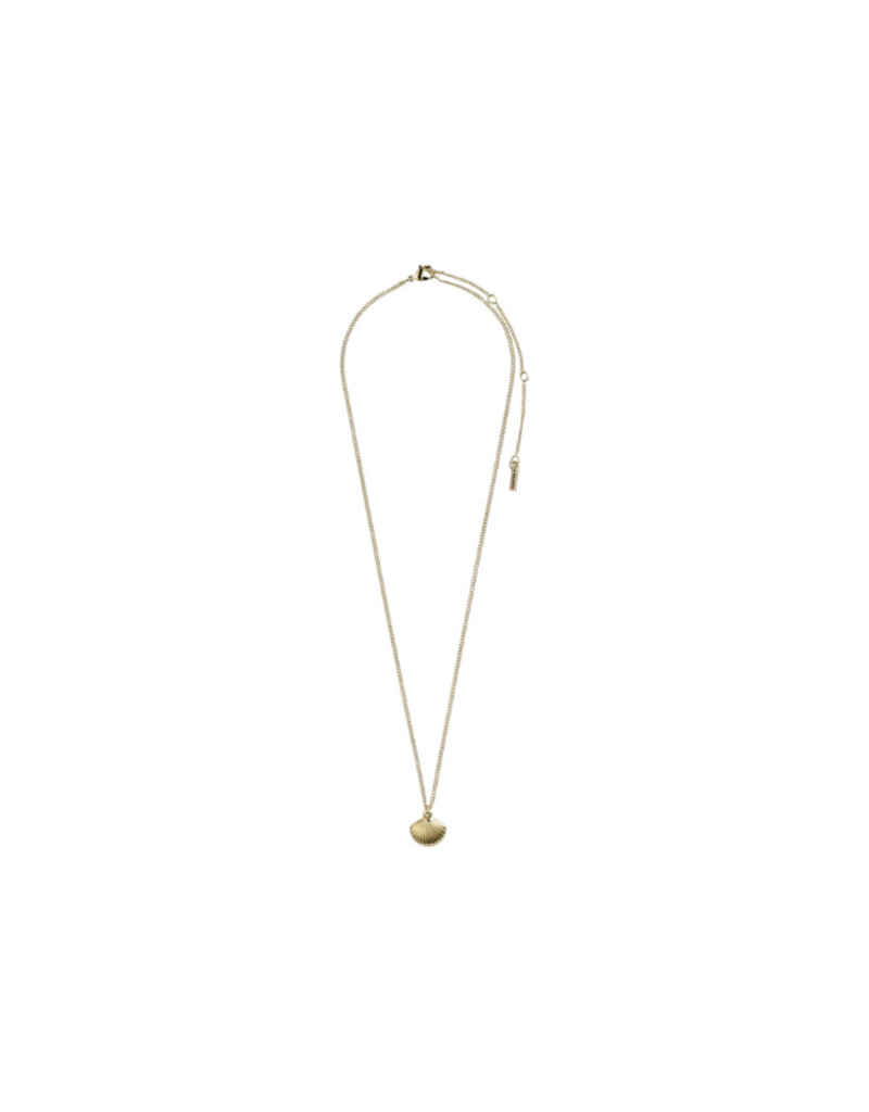 PILGRIM Ocean Love Necklace in Gold-Plated by Pilgrim