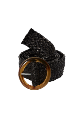 ICHI Izzy Belt in Black by ICHI