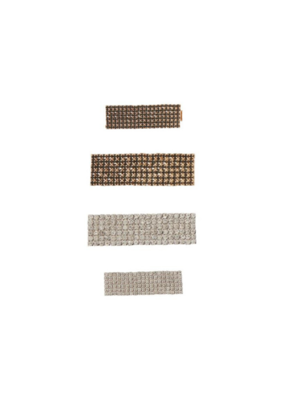 ICHI 4-Pack Glitz Hair Clip Box by ICHI