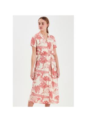 ICHI Cefalu Dress in Tapioca by ICHI