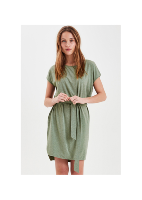 ICHI Rebel Dress in Hedge Green by ICHI