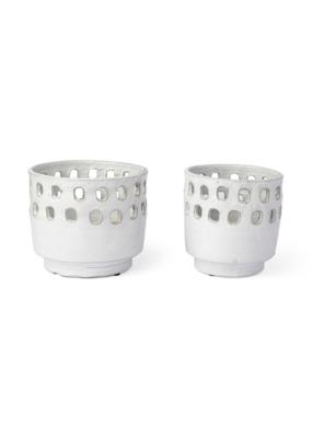 Laraissa Ceramic Hollow Vase