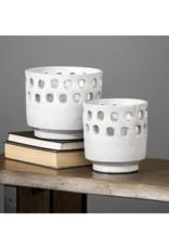 mercana Laraissa Ceramic Hollow Vase