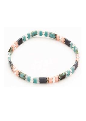 Tila Bead Bracelet 86-8121 by MERX Sofistica