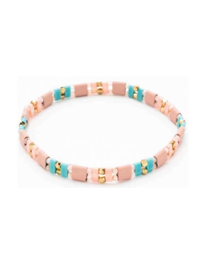 Tila Bead Bracelet 86-8125 by MERX Sofistica