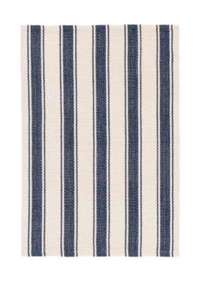 Dash & Albert Dash & Albert Indoor/Outdoor Rug Blue Awning Stripe