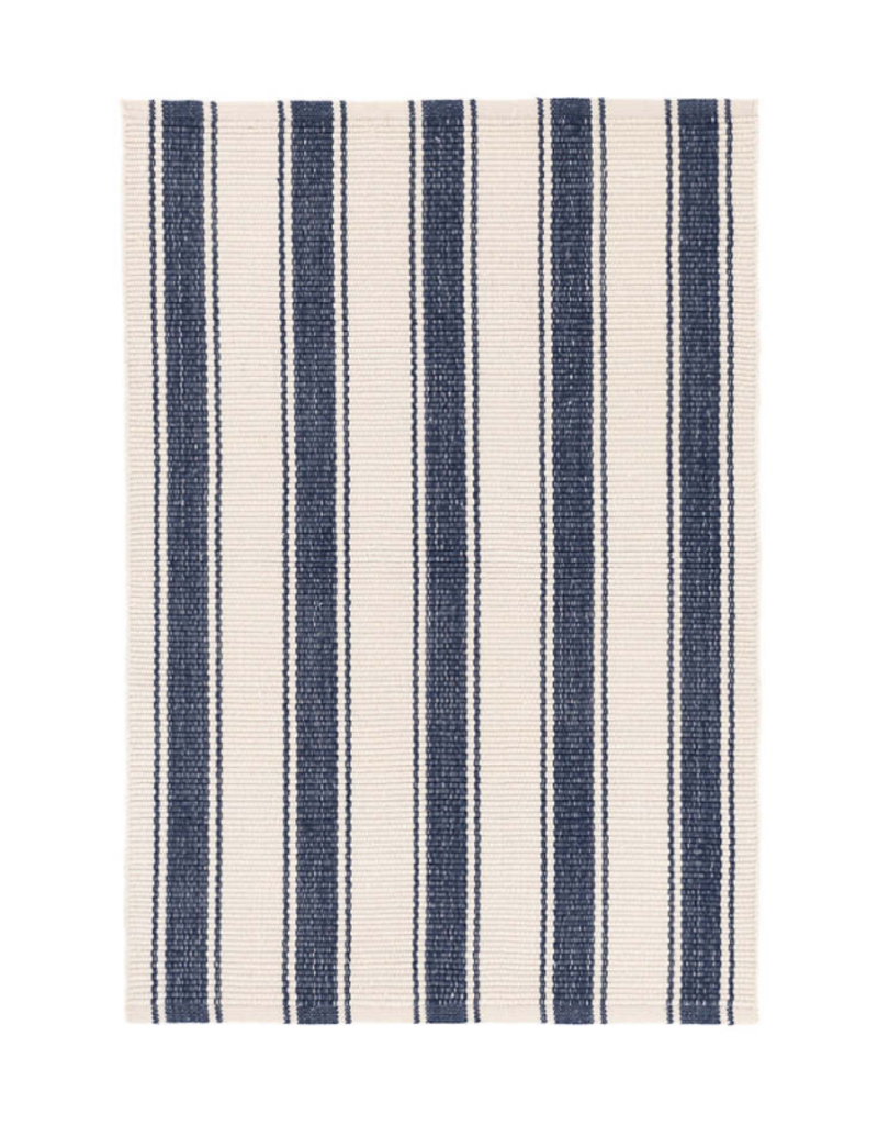 Dash Indoor Outdoor Rug Blue Awning Stripe The Art Of Home