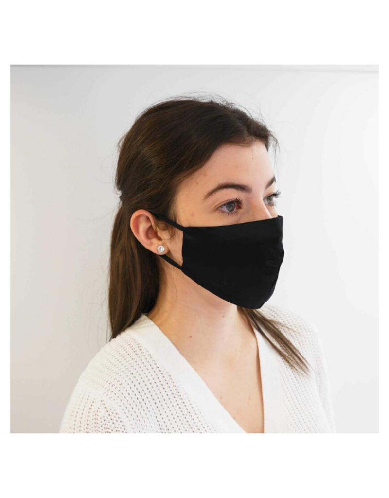 lemonwood Silk Face Mask Black