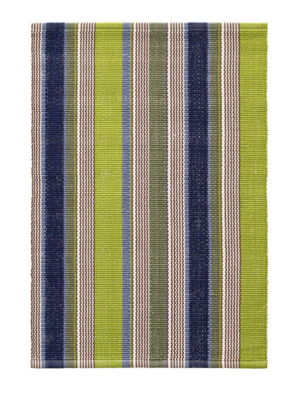 Dash & Albert Dash & Albert Marina Stripe Indoor/Outdoor Rug