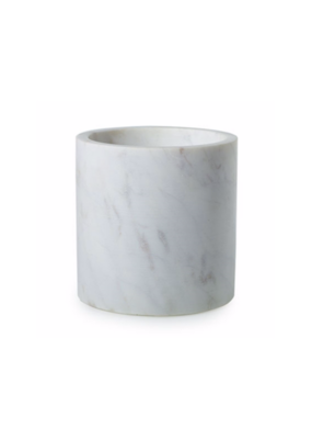 Hofland Marble Pot White Medium