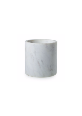 Hofland Marble Pot White Small