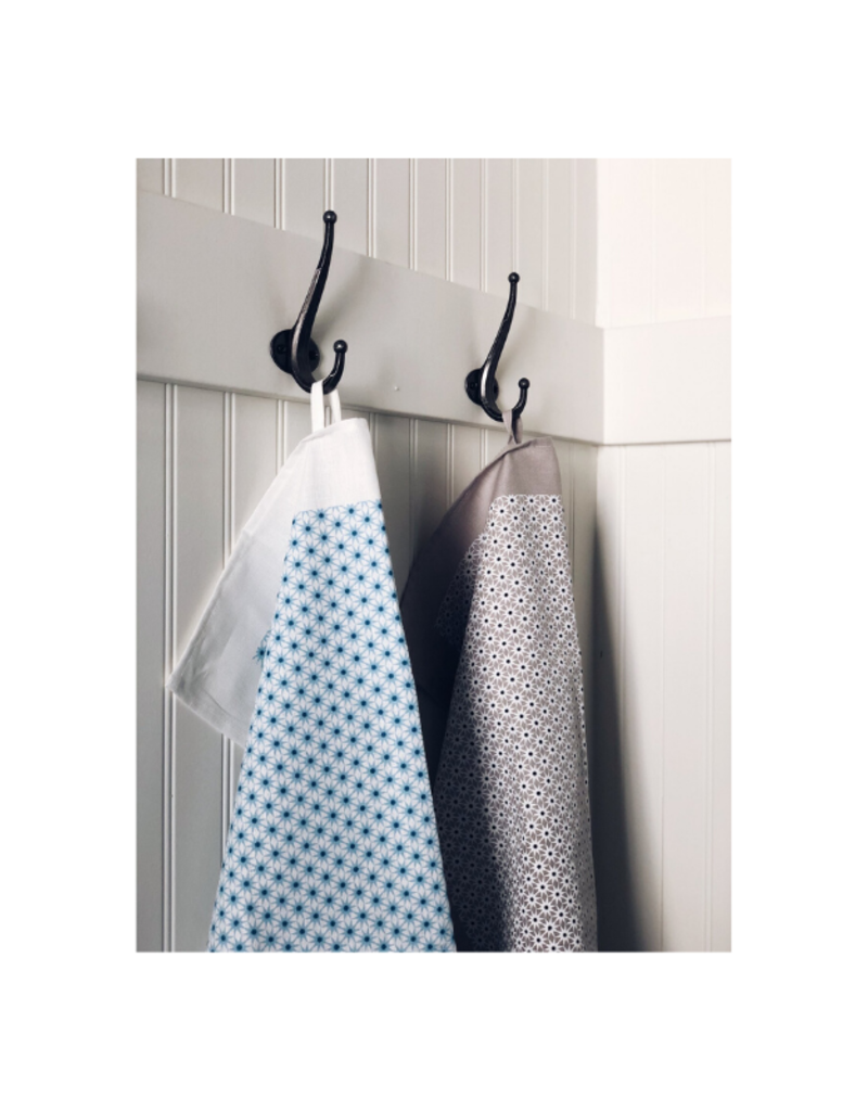 Ten & Co. Ten & Co Teatowel Starburst Grey