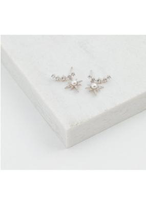Lover's Tempo Lover's Tempo Alaia Climber Earrings Silver