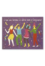 Glitter Bomb Birthday Card