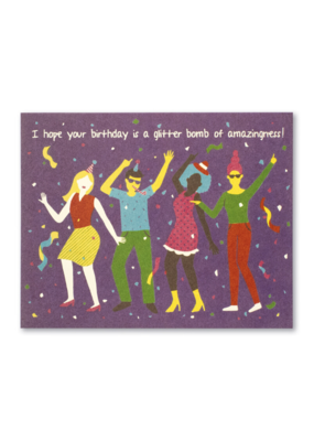 Glitter Bomb Birthday Card