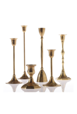 Hofland Antiqued Candlestick Small
