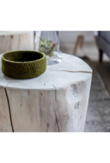 """style in form Salish Stump End Table 16"""""""
