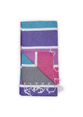 Thick Stripe Bon Bon Turkish Towel