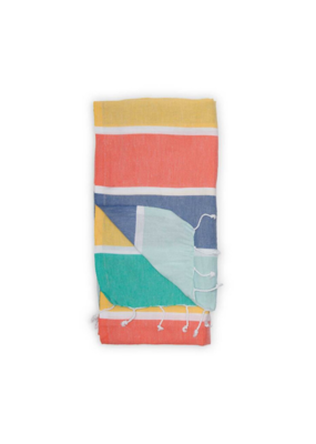 Warm Thick Stripe Turkish Towel