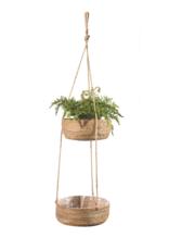 Banana Leaf Hanging Basket
