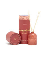 Paddywax Milky Glass Petite Diffuser Ruby Red Grapefruit