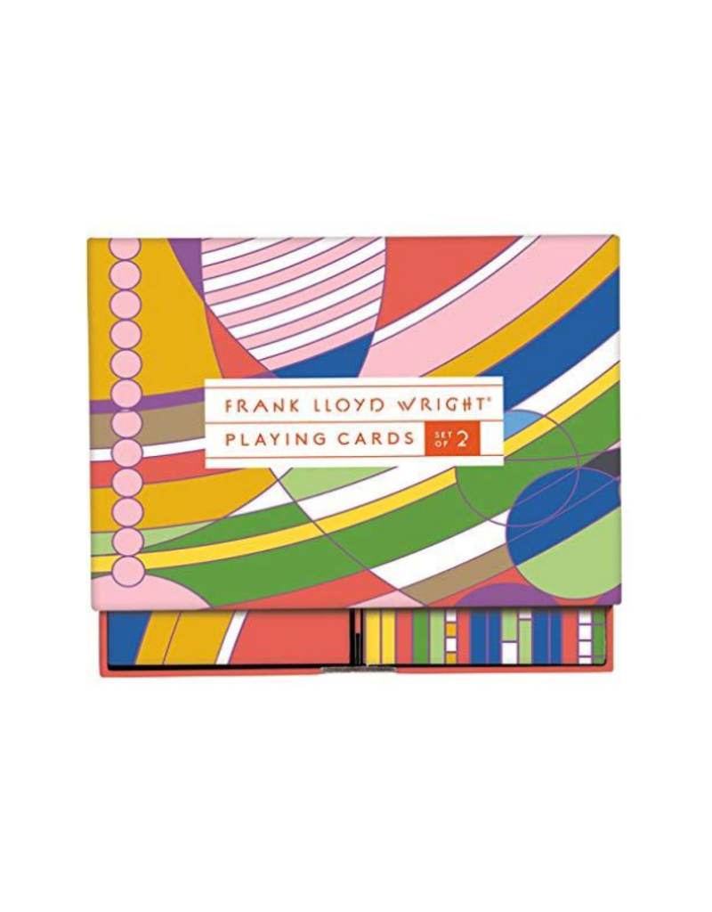 Frank Lloyd Wright Playing Cards