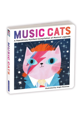 Music Cats Board Book