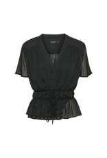 Soaked in Luxury Dafni Blouse in Black by Soaked In Luxury