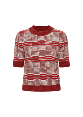 InWear Hilde Sweater in Cayenne by InWear