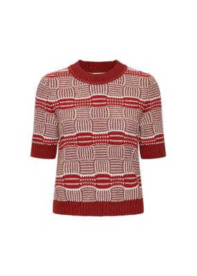 InWear Hilde Sweater in Cayenne by InWear