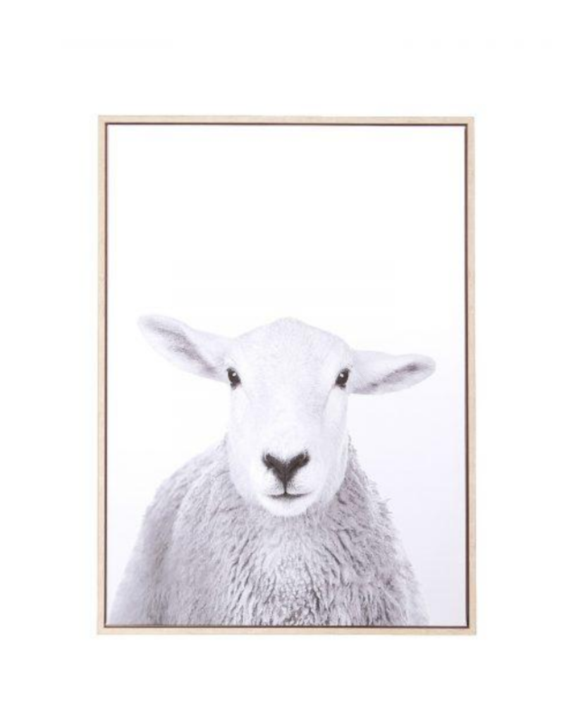 style in form Sheep Canvas Wall Art
