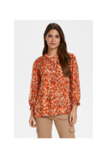 Part Two Dide Blouse in Texture Print Sun by Part Two