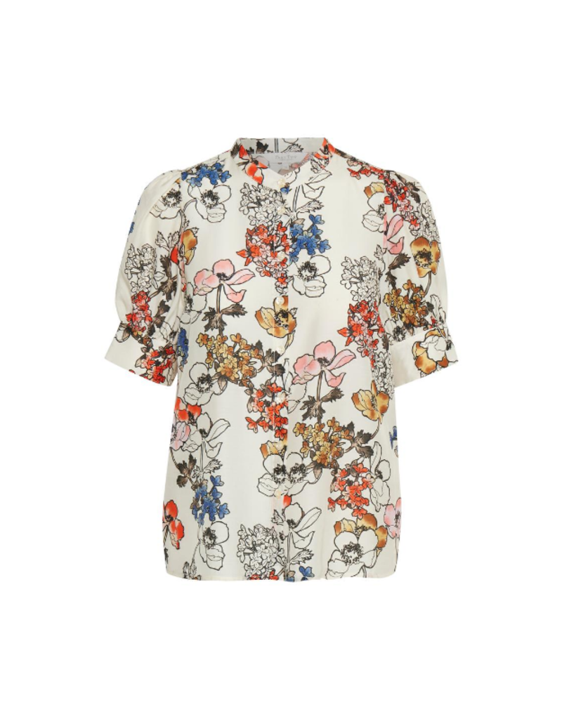 Part Two Dona Shirt in Flora Print Multi by Part Two