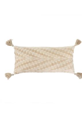 Ecru Athens Bolster Pillow