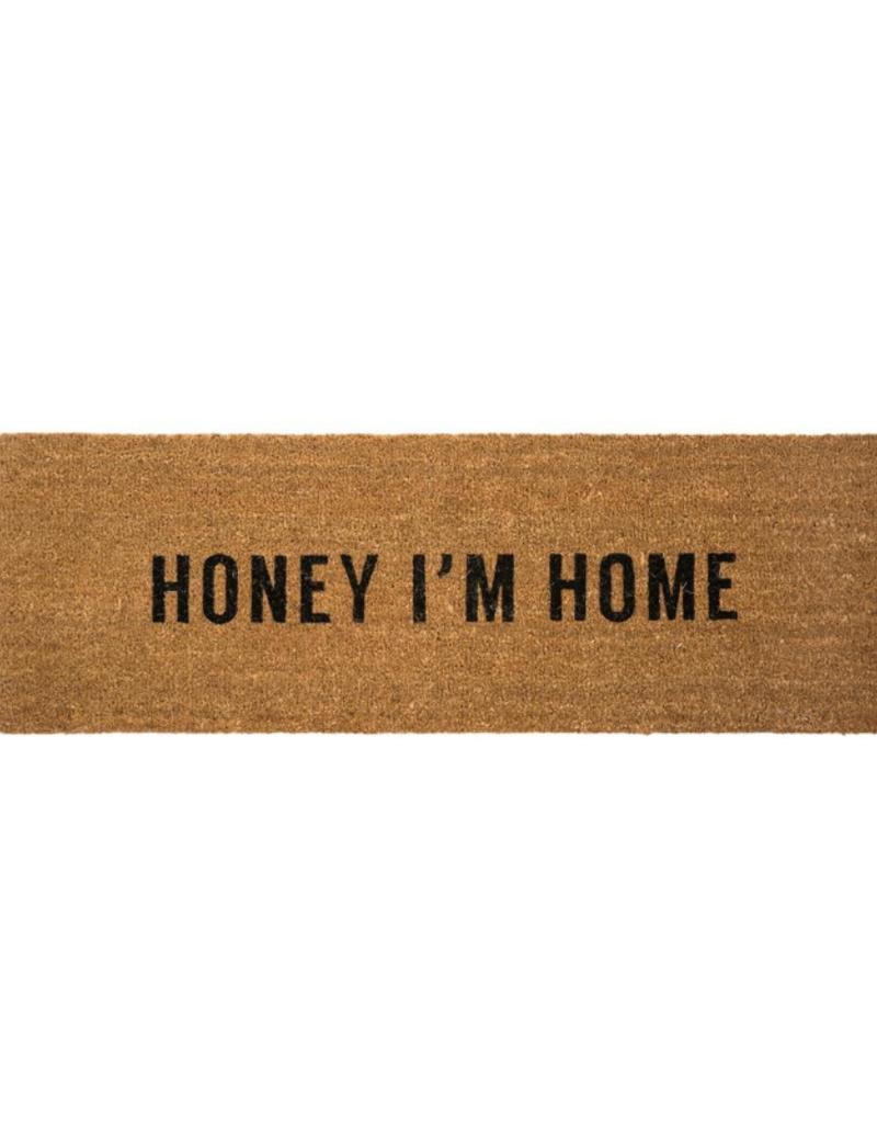 Honey I'm Home Coir Doormat