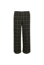 Part Two Ilisan Pant in Big Check Black by Part Two