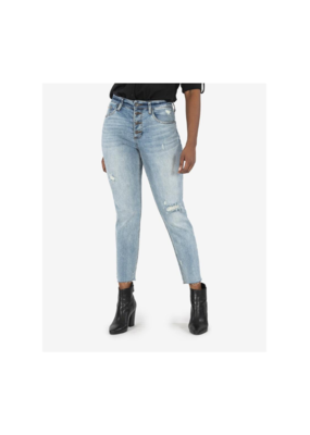 Kut from the Kloth Rachael Mom High Rise Jean in Enticing Wash by Kut from the Kloth