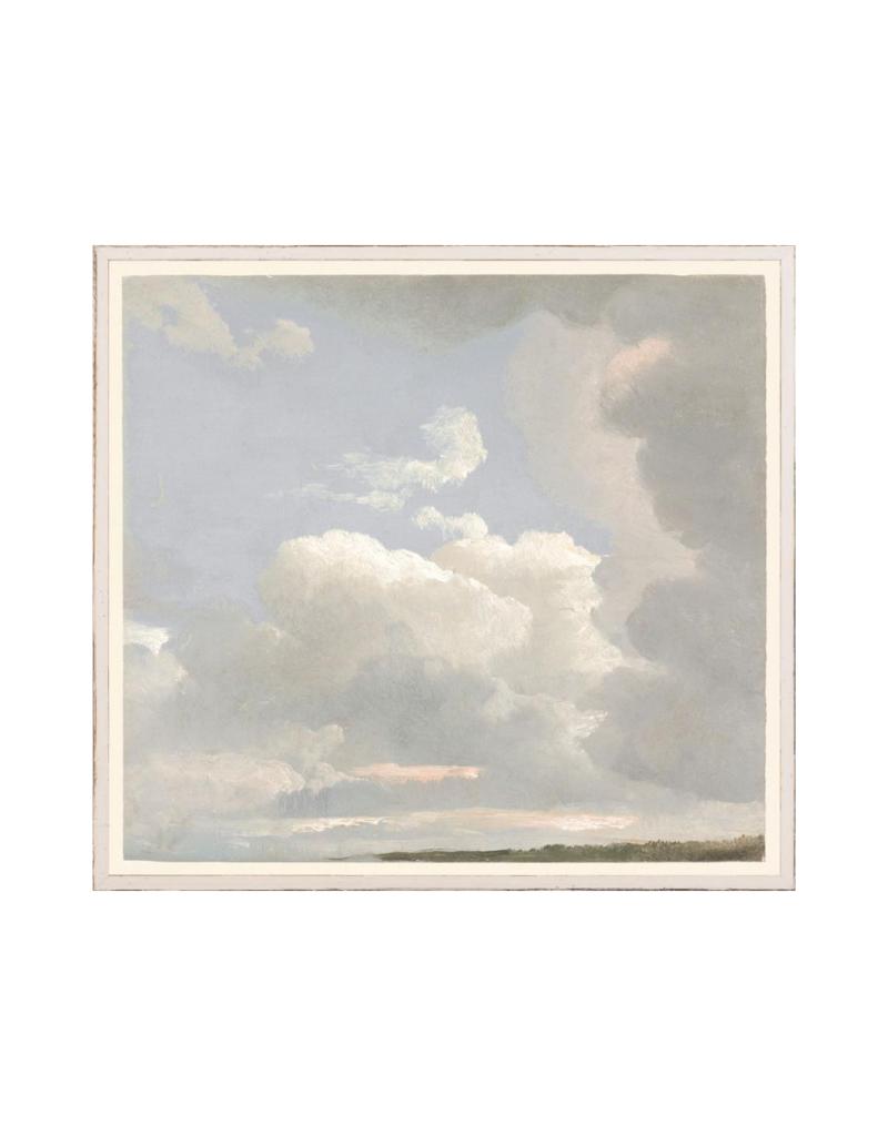"Cloud Study Art Print 22""x24"""