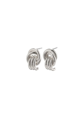 PILGRIM Doris Earrings Silver-Plated by Pilgrim