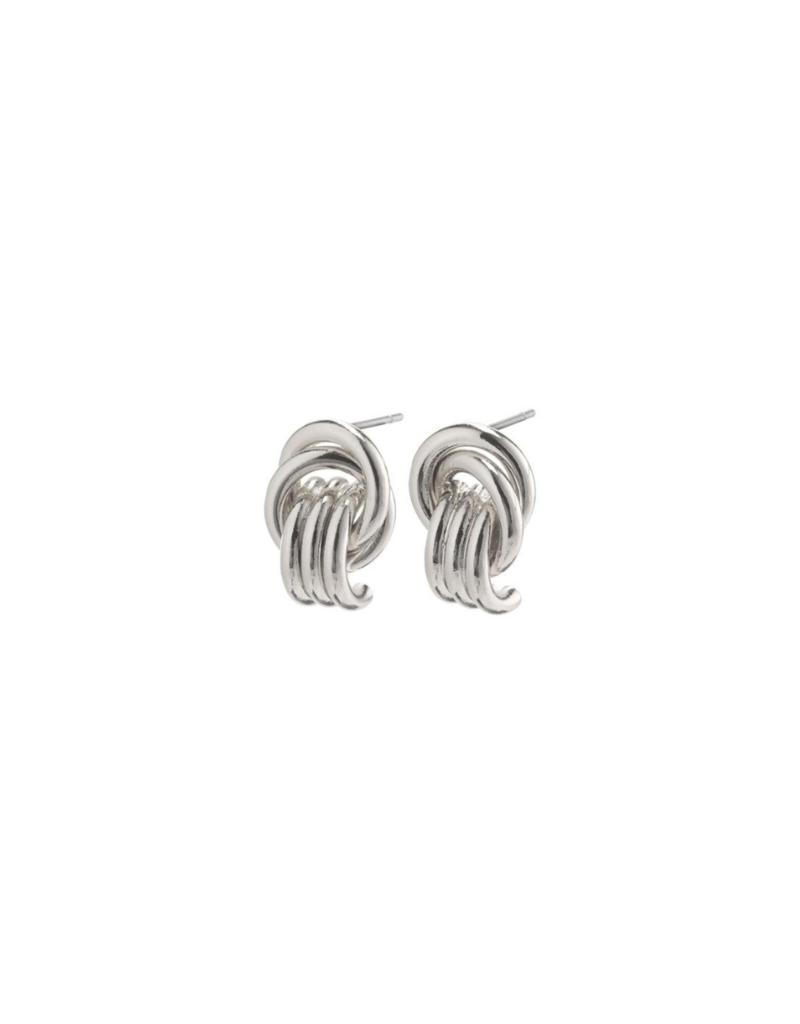 PILGRIM Doris Earrings Silver-Plated by Pilgrim