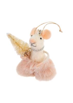 Elegant Emmeline Mouse Ornament