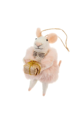 Dapper Dominic Mouse Ornament